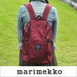marimekko Roadie/METRO リュック/【39972】78(390)ワインレッド マリメッコ バックパック _wh_dp10 _mm20_PP