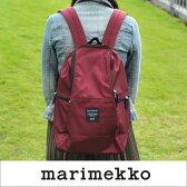 marimekko Roadie/METRO リュック/【39972】78(390)ワインレッド マリメッコ バックパック _wh_dp10 _mm10