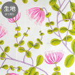 marimekkoKUUSAMA生地No-131【53698】(約幅145×高さ100cm)〜10cm単位カット売り!ピンク×グリーンマリメッコクーサマファブリック