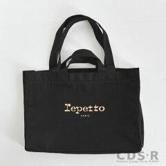 repettoBALLERINEトートバッグ【50244/99】ブラックレペット_dp10_n