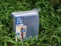 CDソフトケース:50枚入・不織布内袋50枚付き【2個で送料無料】