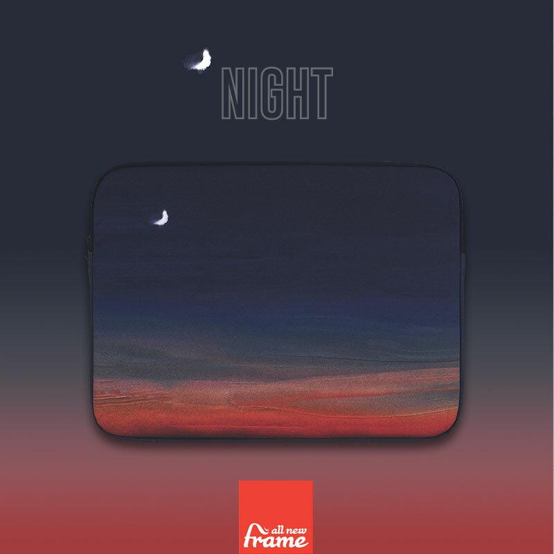 All New Frame Night PCケース 11インチ macbook air ケース macbook ケース macbook ポーチ マックブック ケース マックブック ポーチ 11インチポーチ 11インチ ケース画像