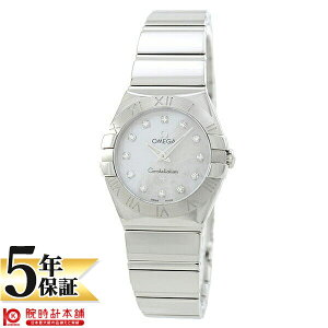 OMEGA [Overseas Imported Items] Omega Constellation 123.10.24.60.55.002 Ladies Watch Watch