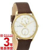 【先着5000枚限定200円割引クーポン】SKAGEN [海外輸入品] スカーゲン 腕時計 ホワイト×ゴールド SKW6066 メンズ 腕時計 時計