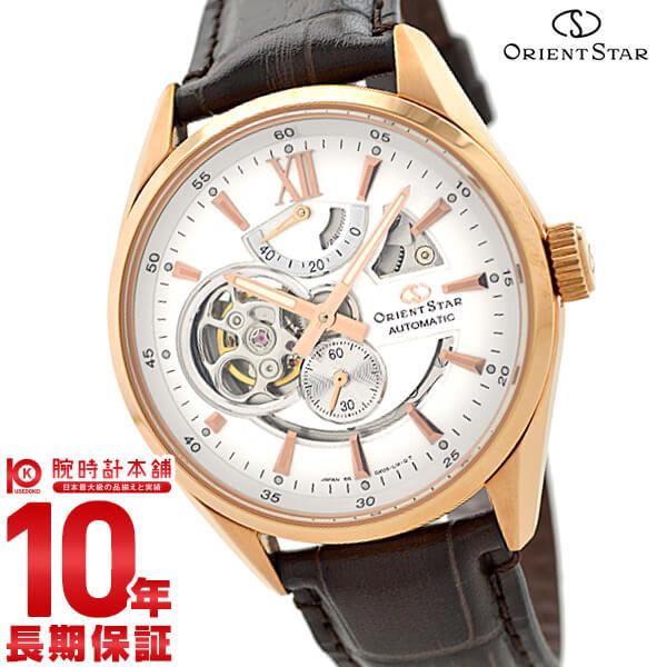 【2000円OFFクーポン】ORIENT オリエントスター オリエントスター モダンスケルトン 機械式 自動巻き (手巻き付き) ホワイト WZ0211DK [正規品] メンズ 腕時計 時計:腕時計本舗LUXE