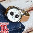 【2000円OFFクーポン】agnesb アニエスベー マルチェロ クロノグラフ ソーラー FBRD973 [正規品] メンズ 腕時計 時計