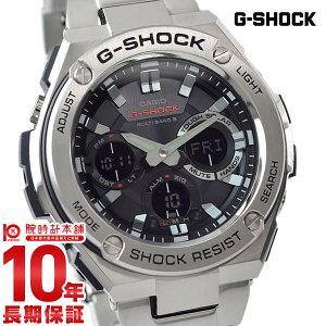 【5日は店内最大ポイント55倍】 カシオ Gショック G-SHOCK Gスチール ソーラー電波 GST-W110D-1AJF [正規品] メンズ 腕時計 時計【24回金利0%】【あす楽】