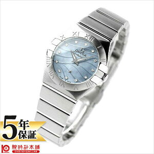 OMEGA [Overseas Imported Items] Omega Constellation 123.10.24.60.57.001 Ladies Watch Watch