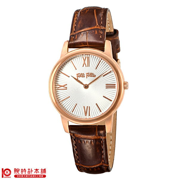 腕時計, レディース腕時計 FolliFollie WF15R032SPW BR