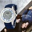 ROMAGODESIGN ロマゴデザイン RM079-0506PL-BU [正規品] メンズ&レディース 腕時計 時計【あす楽】