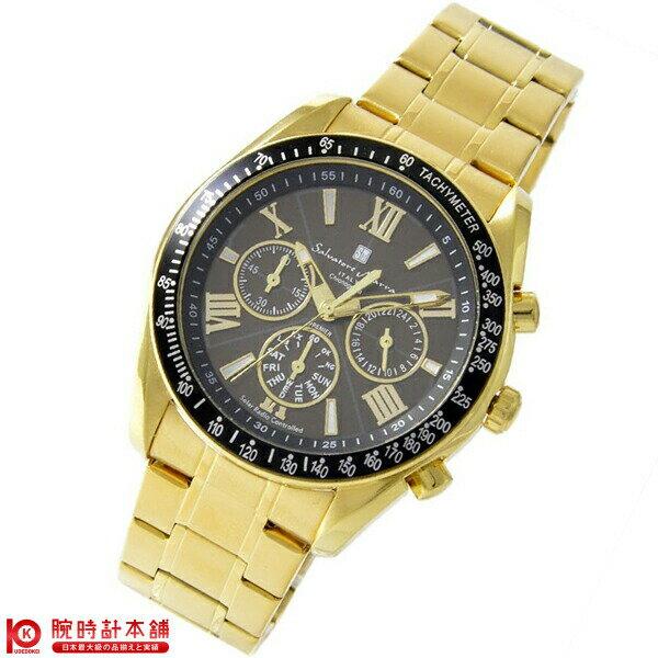 腕時計, メンズ腕時計 7774325 SalvatoreMarra SM15116-GDBKGD