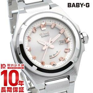 BABY-G ベビーG 電波 ソーラー G-MS レディース アナログ ホワイト MSG-W300D-4AJF メタル タフソーラー カシオ 腕時計 時計 ベビージー CASIO