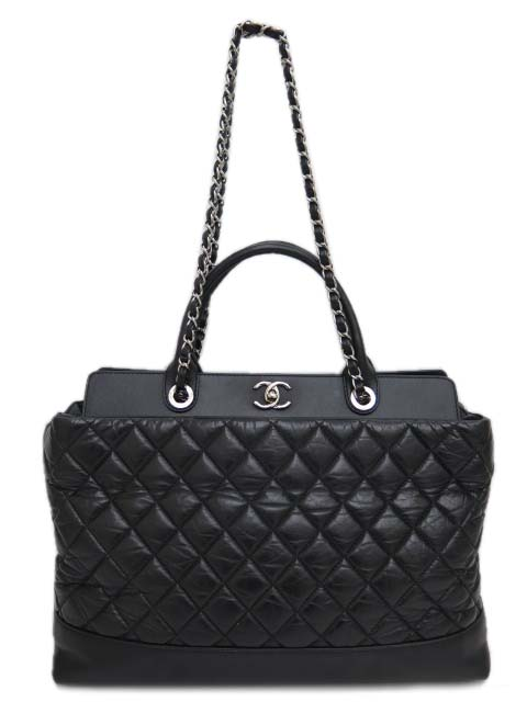 CHANEL quilted tote CHANEL 2WAY
