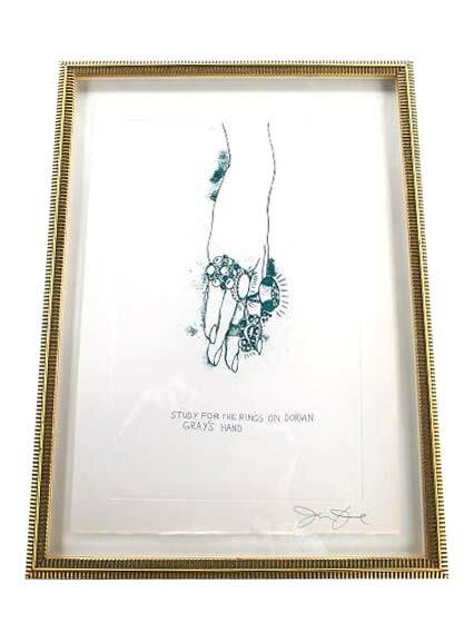 Jim Dine 『ドリアングレーの指環の習作』  【中古】:セレブbyエンデバー