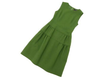 FOXEY BOUTIQUE 39615 Dress グリーンティ 38 S1【中古】