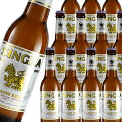 【4/18 23:59迄 エントリーでポイント5倍】タイでビールと言えばコレ!1933年から愛されている...