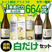 白ワイン6本セット 53弾お買い得に飲み比べワインセット!【送料無料】