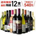 【誰でもP5倍 10/15限定】送料無料 金賞入り特選ワイン12本セット 205弾ワインセット ギフト 長S