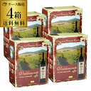 ボトル換算391円(税込) 送料無料《箱ワイン》バルデモンテ レッド3L×4箱ケース(4箱入)赤ワインセット ボックスワイン 大容量 RSL クール便不可 2