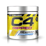 C4RippedExplosivePre-Workout,IcyBlueRazz,30Servings6.3oz