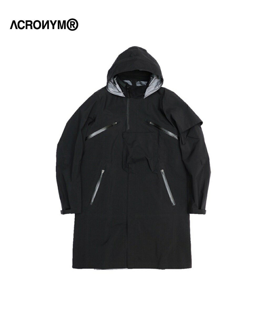 メンズファッション, コート・ジャケット ACRONYM 3L GORE TEX PRO INTEROPS COAT(J1L-GT)Mens Ladies OUTER BLACK