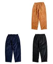 DANRIVER/PAJAMAPANTSMen'sLadiesダンリバーベルベットパジャマシャツイージーパンツバギーシルエットワイドパンツキャメルネイビーブラックML