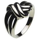 ホワイトメタルアクセサリーリング・指輪ストリングスリングr5031