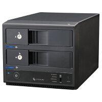《送料無料》裸族の二世帯住宅USB3.0&eSATASATA6GCENTURY/センチュリー/ハードディスクケース[CRNS35EU3S6G]