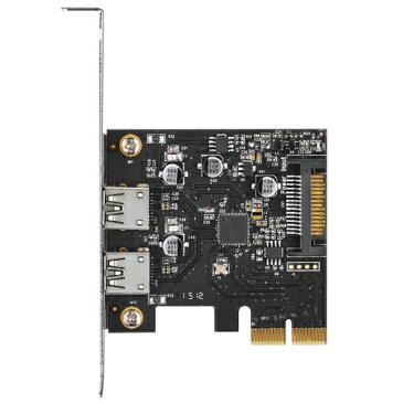 【中古】【30日保証】《送料無料》ポートを増やしタイ USB3.1×2ポート PCI Express x2接続インターフェイスカード CENTURY/センチュリー[CIF-U31P2]