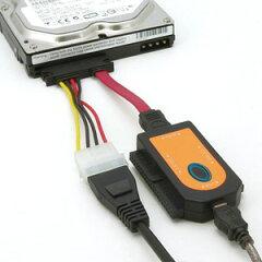 """2.5""""&3.5""""IDE&SATA-USB変換アダプター「裸族の頭IDE+SATA」 1台4役!IDEとSATA機器を裸で使う..."""