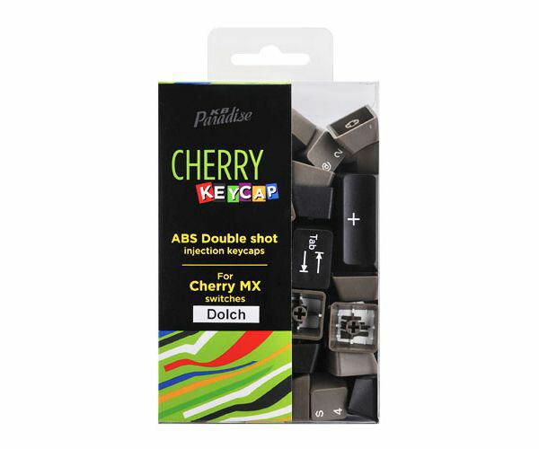 《送料無料》CHERRY MX軸 104英語キーボード用 2色成型カラーキーキャップ (Dolchカラー)[CK-104DOL]
