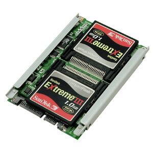 【中古】【30日保証】《送料無料》シリコンディスクビルダーCF RAID SATA CENTURY/センチュリー[SDB25CFS/R5]