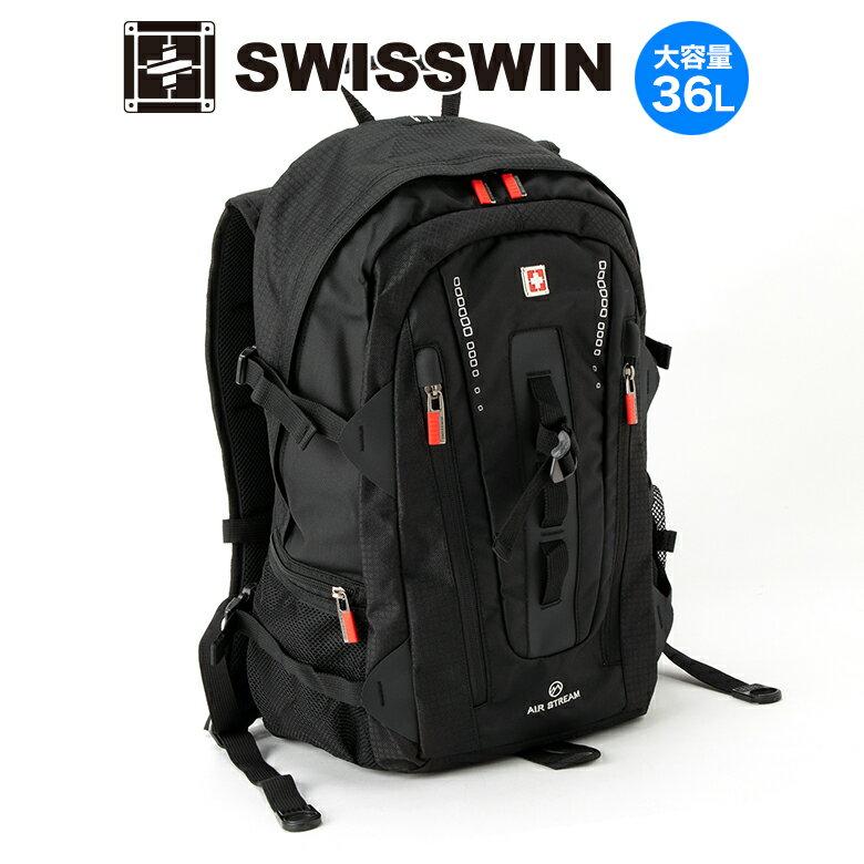 メンズバッグ, バックパック・リュック SWISSWIN BAG PC