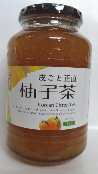 【本場韓国のゆず茶】ゆず茶1KG