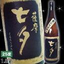 【芋焼酎】黒七夕25度1.8L
