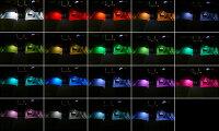 イルミスターフルカラーLEDフットランプキットVer1.0フラットLED4本セット