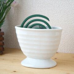 【季節限定63%off】蚊取り線香をもっとオシャレに使いませんか♪ 蚊の飛ぶ季節の必需品陶器製...
