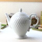 急須花あそび茶こし付きティーポット急須陶器日本茶紅茶緑茶ミニ茶こし付き茶漉し和食器シンプル白い食器陶器食器おしゃれ表示在庫限り国産瀬戸焼