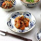 民彩渦紋中皿20cm日本製美濃焼渦型60皿大皿プレートパスタ深めオムライスハンバーグロールキャベツ朝食ワンプレート取り皿取り分け皿ケーキ食器うつわ器