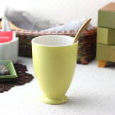 太陽サンサンイエローカップml日本製美濃焼タンブラーカップコップオフィスアイスコーヒーコーヒーカップアイスティー喫茶店和モダン和風イタリアンフレンチ黄色