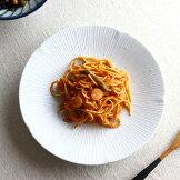 京千段大皿24.3cm日本製美濃焼8.0皿和食和皿プレート丸皿ステーキ皿パスタ皿和風オムライス青磁薄い青食器うつわ器皿お皿陶器磁器陶磁器瀬戸物