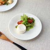 クリームのイタリアンプレート15.5cm日本製美濃焼小皿取り皿丸皿取り分け皿定食皿小付けプレート白表示在庫限り食器うつわ器皿お皿陶器磁器陶磁器瀬戸物