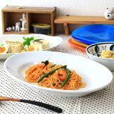 オーバルパスタボール32cmレストランのような多きサイズ♪カレー皿カフェ食器楕円パスタ皿白い食器【02P11Apr15】
