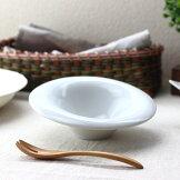 ラウンドスプラッシュサラダボウル16cm日本製瀬戸焼スープサラダスイーツフルーツボウルボール中鉢鉢小付けサラダ鉢肉じゃが鉢煮物鉢奴鉢おつまみ白い皿