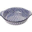 セラミカ(ツェラミカ)【ドヌーブ】グラタン皿(23/21cm)|ポーリッシュポタリー(ポーランド陶器・北欧...