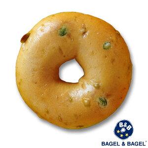 ベーグル・アンド・ベーグル[BAGEL&BEGEL]豆乳枝豆ベーグル×1個[冷凍のみ]【3〜4営業日以内に出荷】