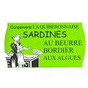 ラ・キブロネーズ[LA QUIBERONNAISE]ボルディエ海藻バター入り サーディン 115g×1缶[常温/全温度帯可]【2〜3営業日以内に出荷】