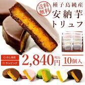 【お中元に】【送料無料】種子島純産安納芋トリュフ(10個入)