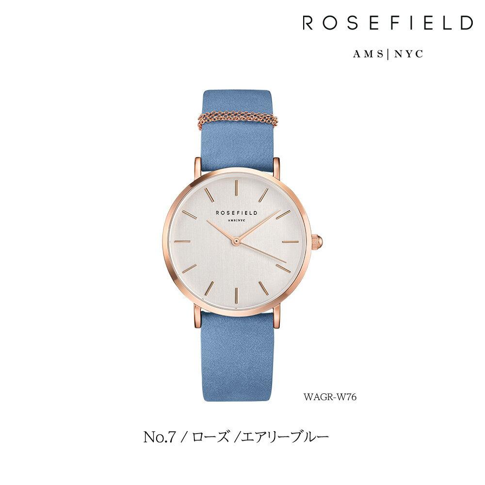 ローズフィールド ROSEFIELD 腕時計 チャーム付き レザーベルト レザーバンド レディース 時計 ウエストヴィレッジ WEST VILLAGE 33mm ローズゴールド ゴールド