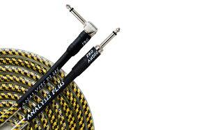 プロイエローオーバル 50cm パッチケーブル アナリシスプラス シールド ギターケーブル G&Hプラグ フォーンプラグ 特許中区楕円構造 リチャードボナ愛用 Pro Yellow Oval 高級 楽器ケーブル Analysis Plus イエローオーバル 送料無料 あす楽